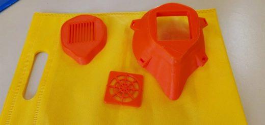 Eldorado: dos escuelas técnicas realizan 200 máscaras de plástico en 3D para médicos del hospital