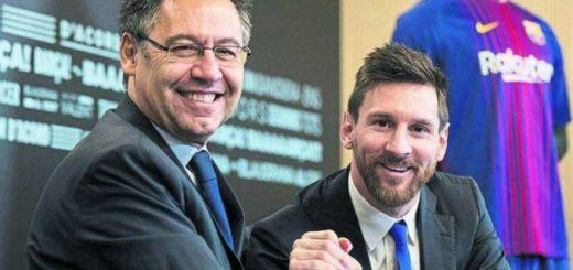 El sorprendente gesto de Messi con el Barcelona en plena crisis por el coronavirus