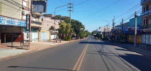 Posadas: las calles permanecen parcialmente vacías en el cuarto día de aislamiento obligatorio