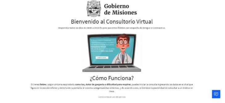 ¿Qué hacer en casa si alguien presenta síntomas que asociamos con el coronavirus? Accedé al consultorio virtual del Gobierno de Misiones