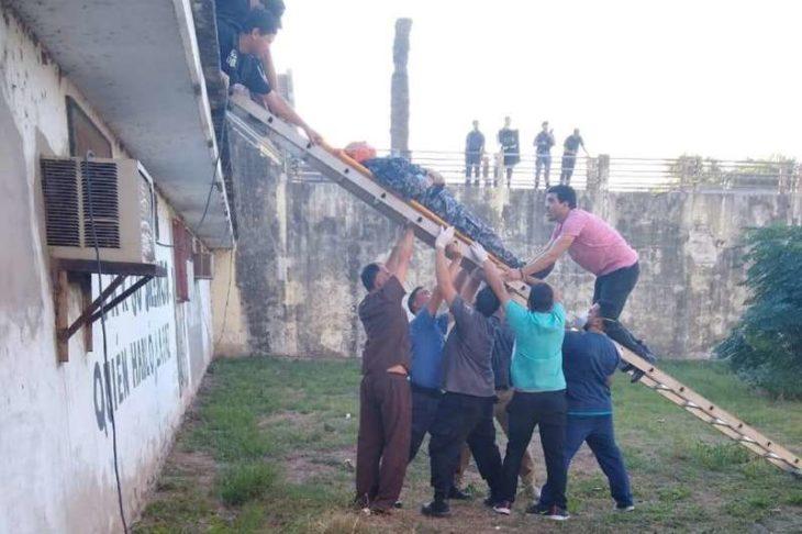 Motines en varias cárceles y tres muertos en presidio de Santa Fe