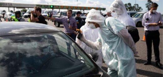 Tres extranjeros fueron detenidos por no respetar la cuarentena y presentaban síntomas de coronavirus
