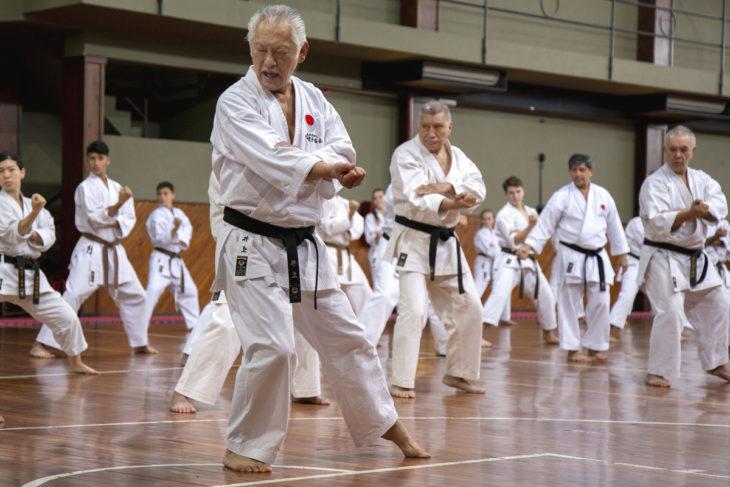 Coronavirus: el karate también lucha contra el virus