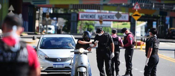Coronavirus:demoraron a más de 20 mil personas y detuvieron a 1.200 por violar la cuarentena en Argentina