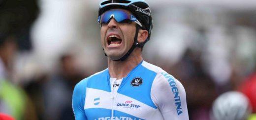 Recuperarse del coronavirus: el ciclista argentino Maximiliano Richeze anunció que está curado