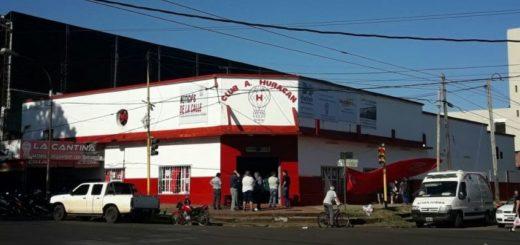 El Club Huracán de Posadas puso a disposición sus instalaciones por la pandemia de coronavirus