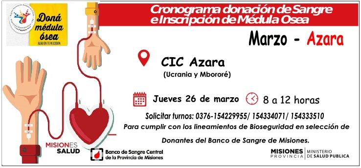 Coronavirus: el Banco de Sangre de Misiones sigue recibiendo donantes con un sistema de turnos