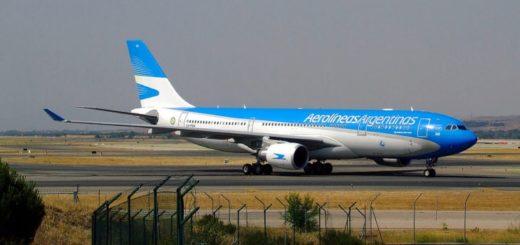 Coronavirus: un anciano ocultó los síntomas y se subió a un avión de Aerolíneas Argentinas