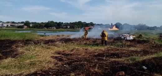 """Misiones sigue en """"alerta máxima"""" por el riesgo de incendios y en Posadas hay temor por la quema de basura"""