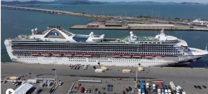 Coronavirus: Cuatro pasajeros murieron en un crucero que salió de Buenos Aires y está varado en Panamá