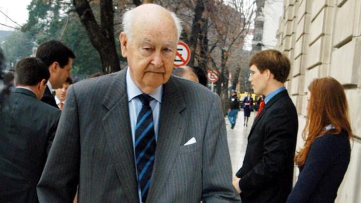 A los 97 años murió el exministro de Economía, Roberto Alemann