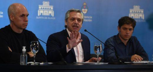 Fernández, Kicillof y Rodríguez Larreta ya tienen un plan de contingencia para un posible pico de coronavirus