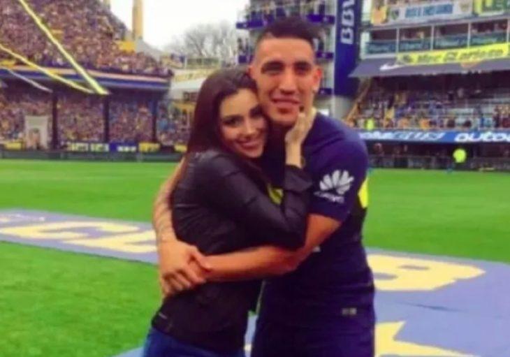 """El emotivo mensaje de despedida de Ricardo Centurión a su novia: """"Te voy a amar siempre, mi amor"""""""