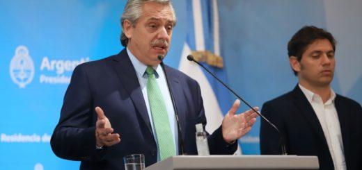 """Coronavirus: """"Estamos bien, pero que nadie se relaje"""", pidió Alberto Fernández"""