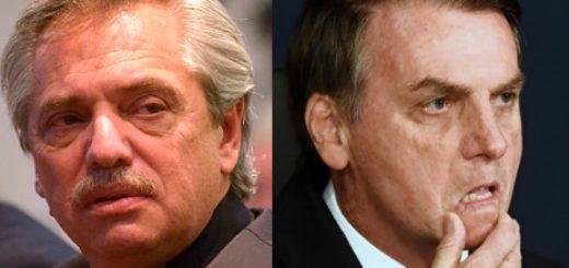Fernández preocupado por actitudes del presidente de Brasil Jair Bolsonaro