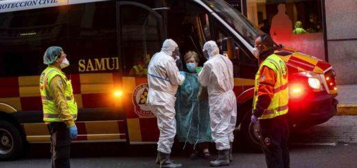 Coronavirus: España anunció 812 muertes y el total superó las 7.300 víctimas fatales