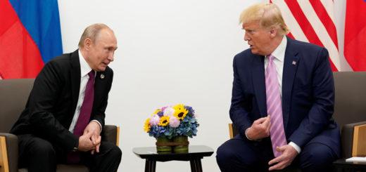 """Coronavirus: Putin ofrece a Trump ayuda médica para frenar """"la grave situación epidemiológica"""" en EE.UU."""
