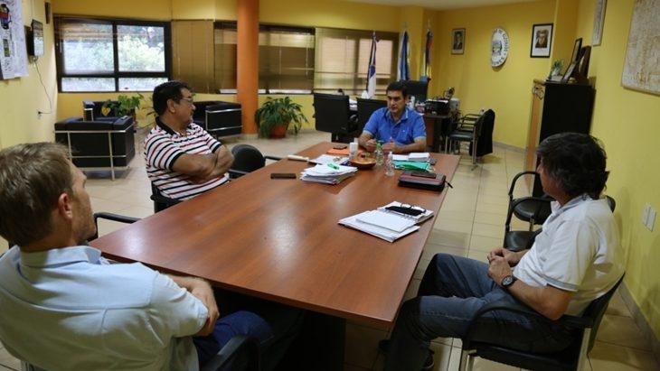 Coronavirus: la municipalidad de Eldorado y la CEEL coordinan limpieza, desinfección y fumigación de la avenida San Martín