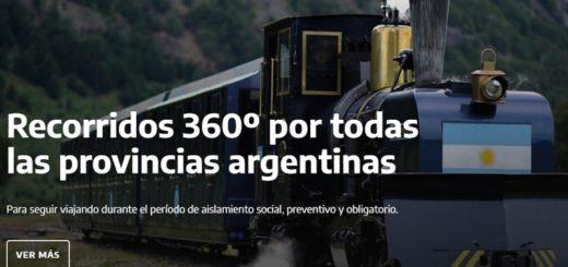 Una plataforma para viajar por toda la Argentina desde casa