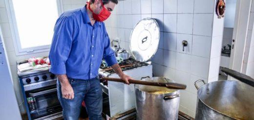 Coronavirus: en Eldorado desde hoy, la municipalidad entrega más de mil raciones de comida por día