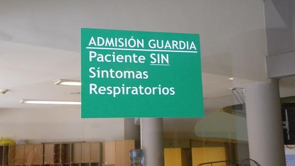 Coronavirus: el Hospital Escuela separa los circuitos de atención de las urgencias para pacientes con síntomas respiratorios y sin síntomas respiratorios