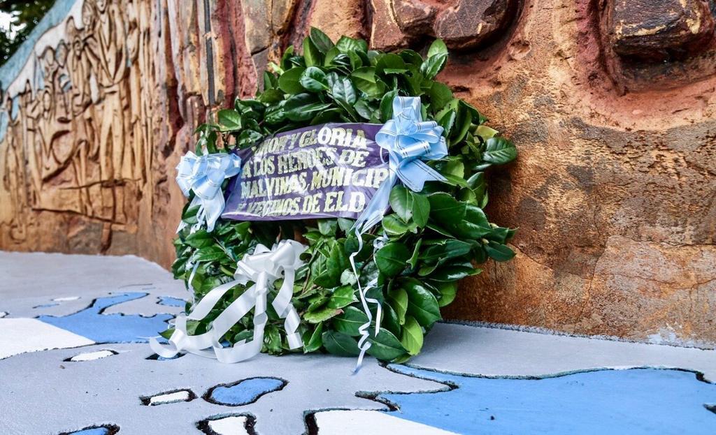 Eldorado: realizaron un homenaje a los veteranos y caídos en la guerra de Malvinas