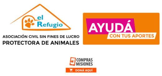 """Cuarentena solidaria: en """"El Refugio"""" necesitan 90 kilos de alimento por día... Podés colaborar donando aquí por Internet"""