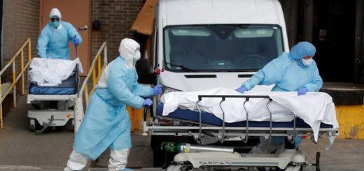 Coronavirus: Estados Unidos registró la cifra diaria de muertos más alta del mundo en un día