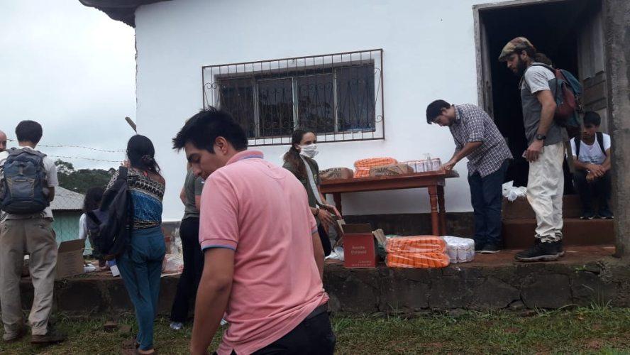 Coronavirus: asistieron a los universitarios misioneros que no pudieron regresar a sus localidades por la cuarentena