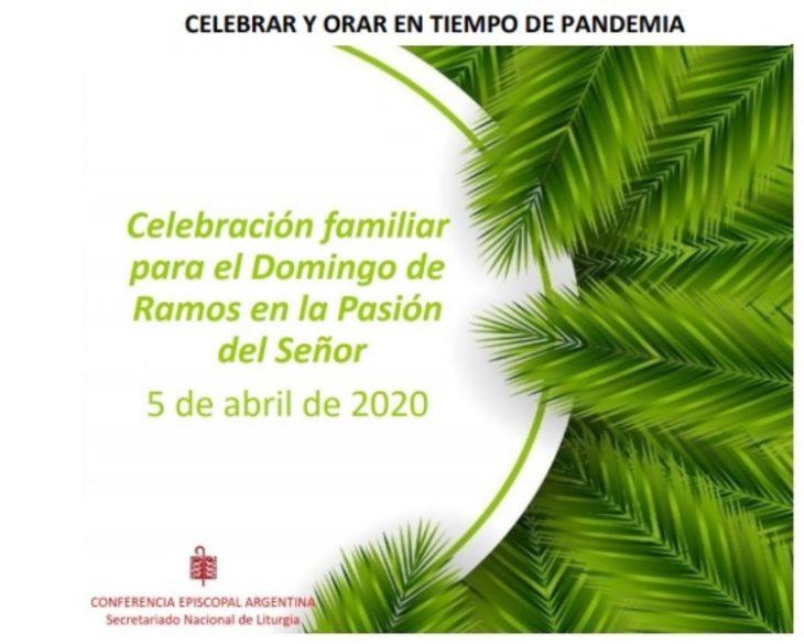 El Domingo de Ramos en época de pandemia será con hojas verdes en las puertas y oración familiar