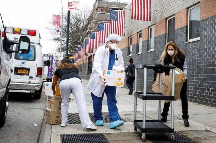 Coronavirus en Estados Unidos: superó los 300.000 infectados y 8.000 muertos