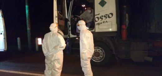 Coronavirus: un camionero que iba de Santa Fe a Puerto Iguazú presentó síntomas en el peaje de la localidad misionera de Eldorado y activó el protocolo