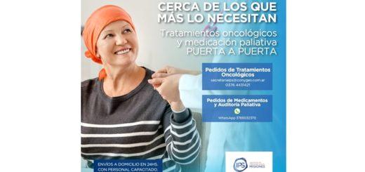 Coronavirus: pacientes oncológicos afiliados al IPS recibirán su medicación a domicilio