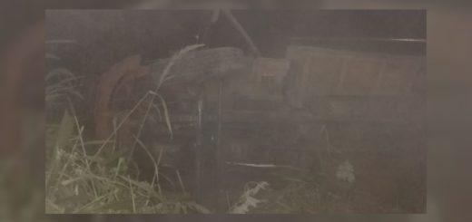 Camión con tareferos despistó y volcó en San Pedro: hay 9 heridos