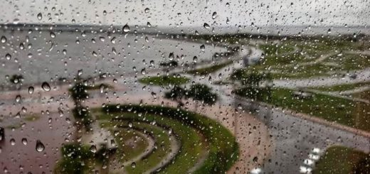 Comienzo de semana lluvioso en Misiones y con pronóstico de un marcado descenso de la temperatura