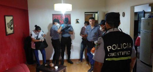 Posadas: un hombre detenido tras herir gravemente con un cuchillo a su pareja