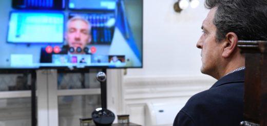 Coronavirus: por videoconferencia, diputados concretaron una reunión de trabajo con el ministro de Trabajo Mario Meoni