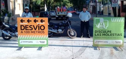 Posadas: por obras, el tránsito estará cortado en calle Junín entre Córdoba y La Rioja
