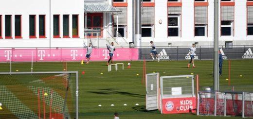 Coronavirus: el Bayern Múnich volvió a los entrenamientos, divididos en pequeños grupos