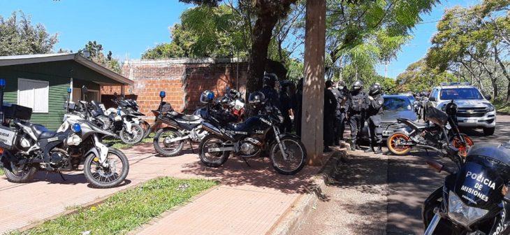 Detuvieron a cuatro personas tras un desorden en el barrio Parque Adam de Posadas