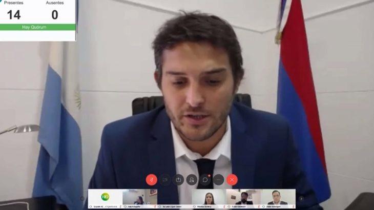 El Concejo Deliberante de Posadas sesionó por primera vez vía streaming