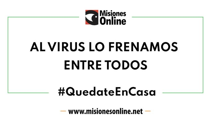 Coronavirus: en Misiones el avance del covid-19 se contiene y los casos positivos no aumentan desde hace nueve días