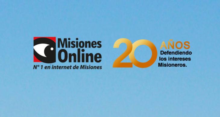 Misiones Online cumple hoy 20 años,en medio de la pandemia del Coronavirus y con récord histórico de lectores y seguidores