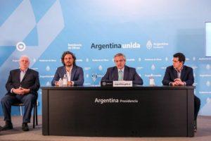 Coronavirus: el presidente Alberto Fernández confirmó que la cuarentena se extenderá hasta el 26 de abril