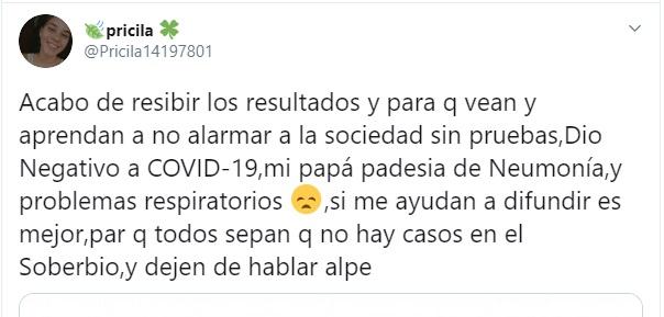 Iniciaron una causa judicial contra quien difundió en las redes un deceso por coronavirus en El Soberbio