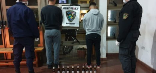 Coronavirus: la Policía sorprendió a transeúntes que estaban alcoholizados y violaban la cuarentena