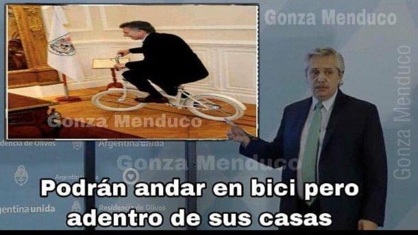 Estallaron los memes tras la conferencia de Alberto Fernández