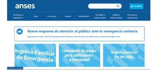 Paso a paso, cómo registrarse en la página de Anses para cobrar el Ingreso Familiar de Emergencia
