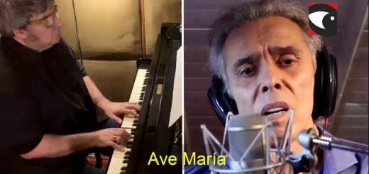 """El Gobernador Oscar Herrera Ahuad agradeció a Jairo y Lito Vitale por participar con una especial versión del """"Ave María"""" en la Misa Popular de las Misiones"""
