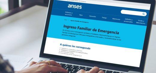 Anses comenzará a pagar el Ingreso Familiar de Emergencia (IFE) a partir del 21 de abril y por número de DNI